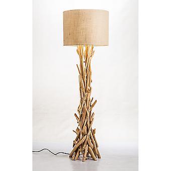 Modern Home Nautical Driftwood Floor Lamp