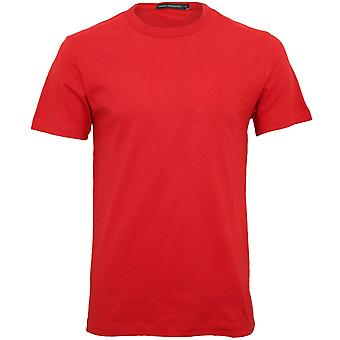French Connection Crew-Neck T-Shirt, Salsa Red