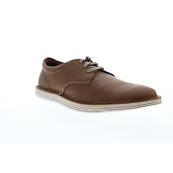 Clarks Forge Vibe Mens Brown Lederen Casual Slip On Loafers Schoenen
