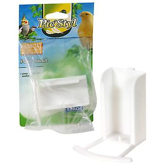 Tyrol Biscuit Holder (Birds , Feeders & Water Dispensers , For Cages)