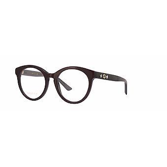Gucci GG0348O 004 Burgundy-Black Glasses