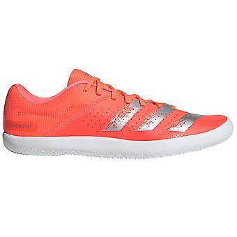 adidas Throwstar Hammer Shot Put Discuss Field Spike Shoe Orange/White