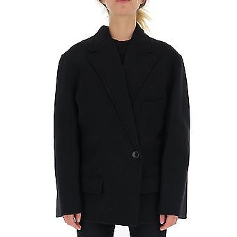 Jacquemus 193ja0519319990 Women's Black Wool Blazer