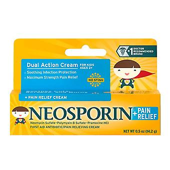 Neosporin antibiotic and pain relieving cream for children, 0.5 oz