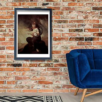 Henry Fuseli - Turned to Face Poster Print Giclee