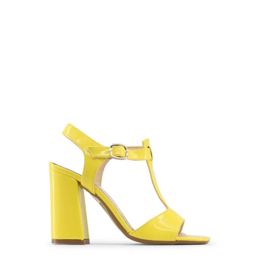 Made in Italia Original Women Spring/Summer Sandals - Yellow Color 28866 jGTcl