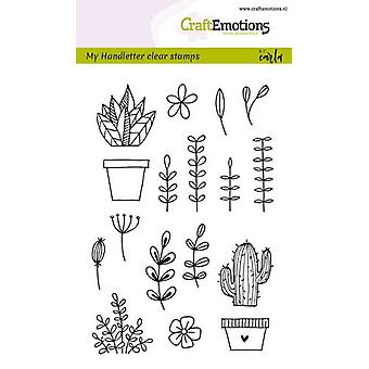 CraftEmotions Clear Stamps A6 - handmade floral images Carla Kamphuis