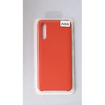 Silicone Cover Case for Samsung A50 Red