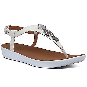FitFlop™ Lainey Circle Womens Toe Post Sandals