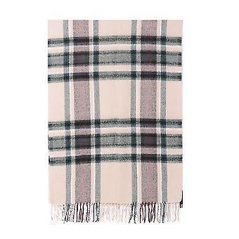 Intrigue Womens/Ladies Tasselled Checked Blanket Scarf