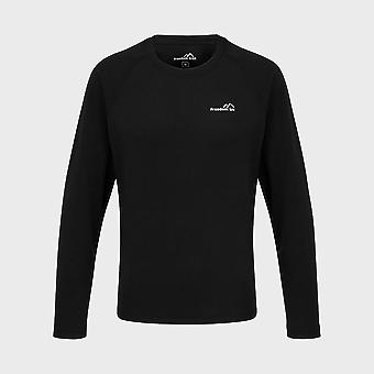 New Freedom Trail Kids' Essential Tech Long Sleeve Tee Navy