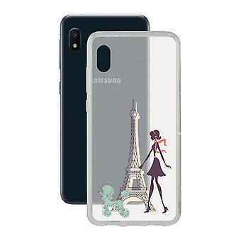 Capa móvel Samsung Galaxy A10e Contact Flex France TPU