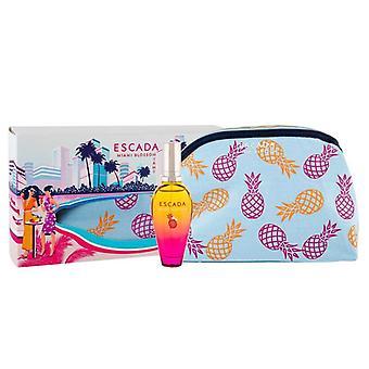 Giftset Escada Miami Blossom Edt 30ml + Clutch Bag