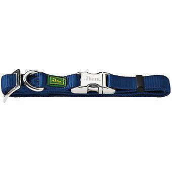 Hunter Collar Vario Basic Alu Strong color azul marino
