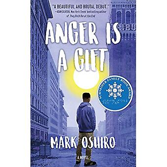 Anger Is a Gift by Mark Oshiro - 9781250167026 Book