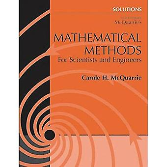 Solutions Manual to Accompany Mathematical Methods for Scientists and Engineers