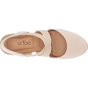 Me Too Womens Brinley Canvas Peep Toe Casual Platform Sandals