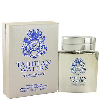 Tahitian Waters Eau De Parfum Spray By English Laundry 3.4 oz Eau De Parfum Spray