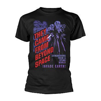 Plan 9 They Came From Beyond Space Virallinen Tee T-paita Miesten Unisex