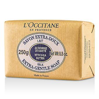 Shea boter extra zachte zeepmelk 43645 250g/8.8oz
