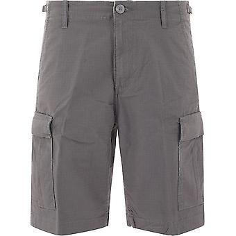 Carhartt I028245716 Shorts en coton gris pour hommes