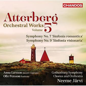 Atterberg / Larsson - Atterberg: Orchestral Works 5 [CD] USA import