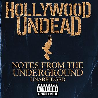 Hollywood Undead - Notes From the Underground (Unabridged) [CD] USA import