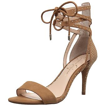 Jessica Simpson Womens Maevi offen formale Ankle Strap Zehensandalen