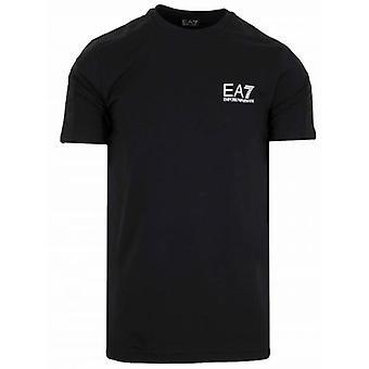EA7 Black Tape Logo T-Shirt