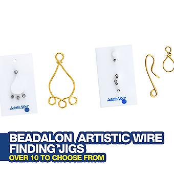 Beadalon Artistic Wire Finds Formular Jigs pentru a face propriile descoperiri bijuterii