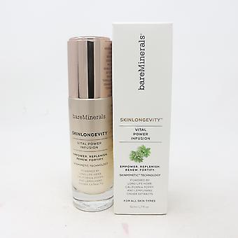 Bareminerals Skinlongevity Vital Power Infusion 1.7oz/50ml nuevo con caja