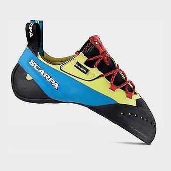 Scarpa Men's Chimera Climbing Shoes Yellow/Blue