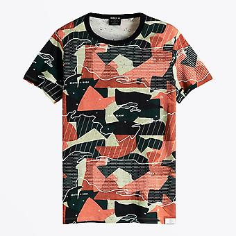 Scotch & Soda  - All-Over Print Tee - Multi