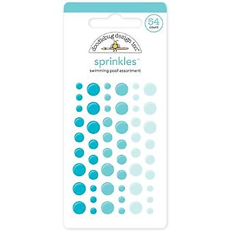Doodlebug Design Piscine Sprinkles (54pcs) (4010)
