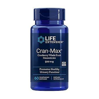 Cran-Max 60 vegetable capsules