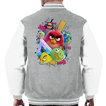 Angry Birds 3D Gang Men's Chaqueta Varsity