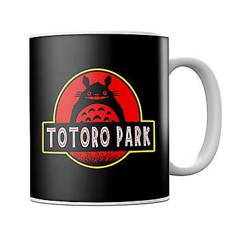 Totoro Park Studio Ghibli Jurassic Park Mug