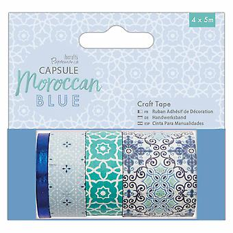 Papermania Capsule Craft Tape Moroccan Blue (4x5m) (PMA 462225)
