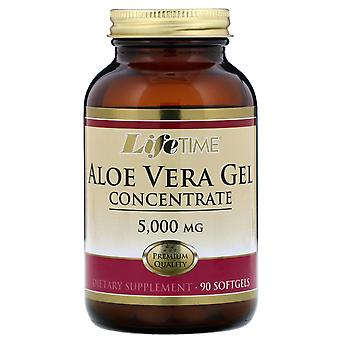 LifeTime Vitamins, Aloe Vera Gel Concentrate, 5,000 mg, 90 Softgels