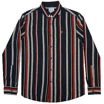 Farah Shirts Mcpherson Stripe LS Shirt