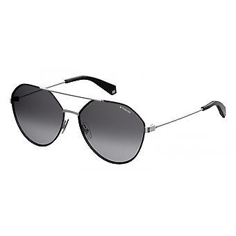 نظارات شمسية للجنسين 6059/S284/WJ التدرج الفضي / الرمادي