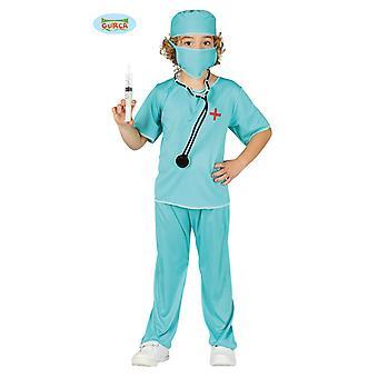 Guirca chirurgo medico OP costume per bambini carnevale