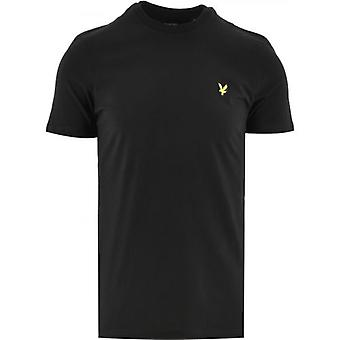 Lyle & Scott Jet Black Crew Neck T-paita