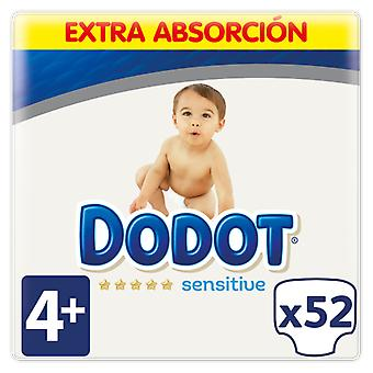 Dodot Sensitive Extra Size 4 with 52 Units (Baby & Toddler , Diapering , Diapers)