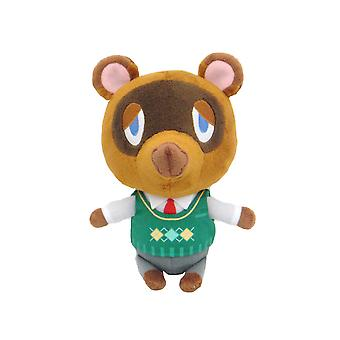 Officielle Animal Crossing Tanukichi Tom Nook Plushie - 20cm