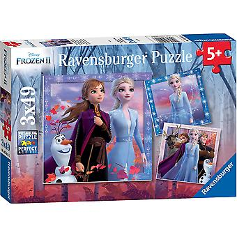 Ravensburger Frozen 2, 3 x 49pc Jigsaw Puzzles