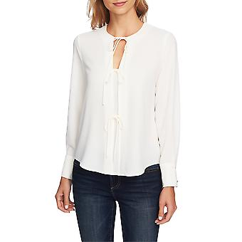 1.State | Tie Front Blouse