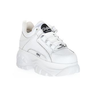 Buffalo 1339 white cow leather sneakers fashion