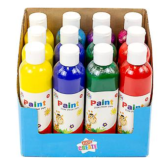 Kids Create Childrens Poster Paint 250ml Age 3+