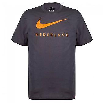 2020-2021 هولندا الأرض تي (Anthracite)